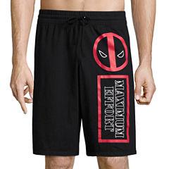 Deadpool Knit Pajama Shorts