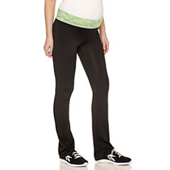Knit Yoga Pants-Plus Maternity