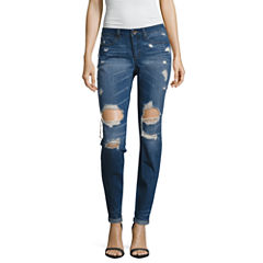 Tyte Destructed Classic Fit Jeans-Juniors