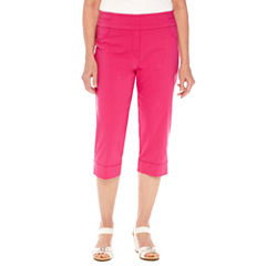 Alfred Dunner Reel It In Stretch Capris