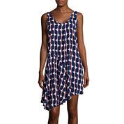 Stylus™ Draped Tank Dress