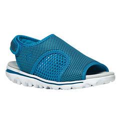 Propet Travelactiv Womens Flat Sandals