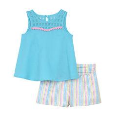 Marmellata Short Set Baby Girls