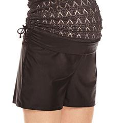 a.n.a Solid Boyshort Swimsuit Bottom-Maternity