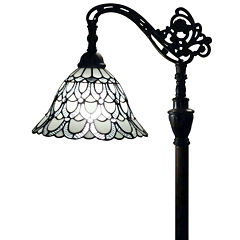 Amora Lighting AM107FL11 Tiffany Style  Floor Lamp62 In Adjustable Shade