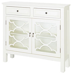 CANADY WHITE SLIMLINE CONSOLE
