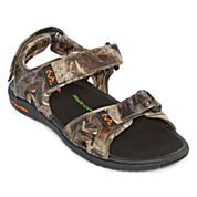 Realtree® Rapid Camo Strap Mens Sandals