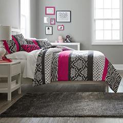 Mi Zone Gemma Zebra Comforter Set