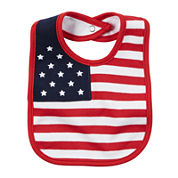 Carter's® 4th of July Flag Bib - newborn-24m