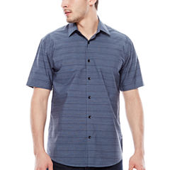 JC Los Angeles Short-Sleeve Woven Shirt