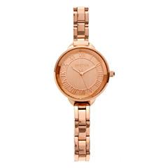 Bertha Madison Womens Rose Goldtone Bracelet Watch-Bthbr6703
