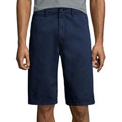 "Arizona 12"" Inseam Longboard Flat-Front Cotton Shorts"