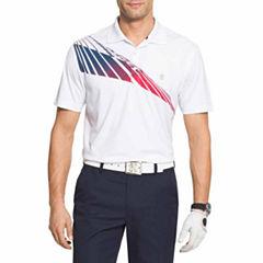 IZOD Golf Set Sail Short Sleeve Polo Shirt