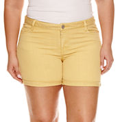 Arizona Midi Shorts - Juniors Plus
