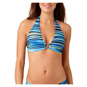 a.n.a® Mix & Match Striped Ombre Halter Swim Top