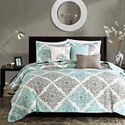 Madison Park Montecito 6-pc.Quilt Set