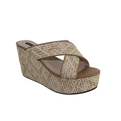 Michael Antonio N/A Unisex Wedge Sandals