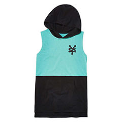 Zoo York Sleeveless Hooded Neck T-Shirt-Big Kid Boys