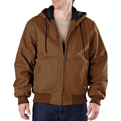 Dickies® Heavy-Duty Sanded Duck Hooded Jacket–Big & Tall