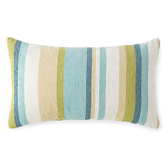 JCPenney Home™ Chenille Stripe Oblong Decorative Pillow