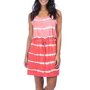 PL Movement by Pink Lotus Kizzy Sleeveless Tie-Dyed Dress