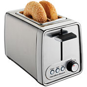 Hamilton Beach® Modern Chrome 2-Slice Toaster