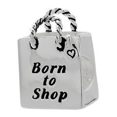 Forever Moments™ Shopping Bag Charm Bracelet Bead