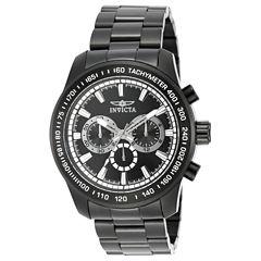 Invicta Speedway Mens Black Bracelet Watch-21815