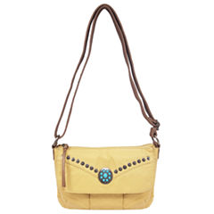 St. John's Bay Medallion Mini Crossbody Bag