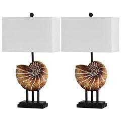 Safavieh Nautilus Shell Table Lamp