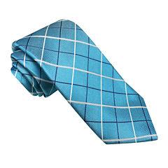 Stafford® Marco Bay Grid Silk Tie - Slim