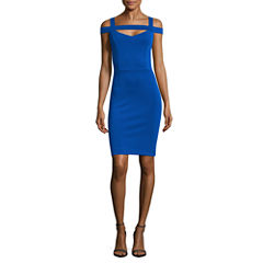 Nicole By Nicole Miller Cold Shoulder Bodycon Dress