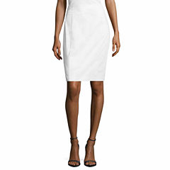 Worthington Sateen Pencil Skirt Talls