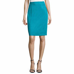 Worthington Sateen Pencil Skirt Talls