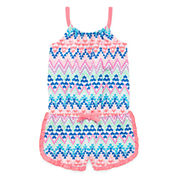 Okie Dokie Sleeveless Romper - Toddler