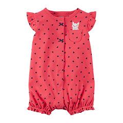 Carter's Baby Pink Heart Creeper - Baby