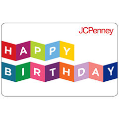 Happy Birthday Banner Gift Cards