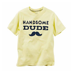 Carter's Short Sleeve T-Shirt-Baby Boys