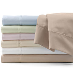 600tc Easy Care Solid Sheet Set