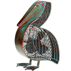 Deco Breeze Pelican Figurine Fan