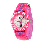 Disney Girls Multicolor Strap Watch-W002704