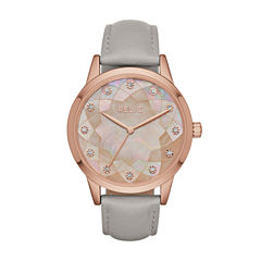 Relic Womens Gray Strap Watch-Zr12206