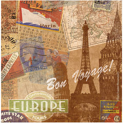 Thirstystone® Destination Europe Set of 4 Coasters