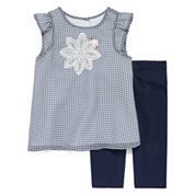 Marmellata Sleeveless Checked Dress Set  - Baby Girls 3m-24m