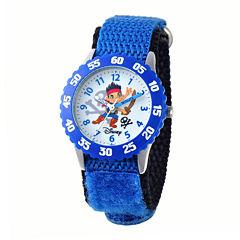Disney Jake Kids Time Teacher Blue Fast Strap Watch