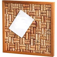 Wine Enthusiast® Small Wine Cork Board Kit