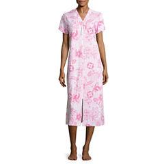By Miss Elaine Short Sleeve Robe