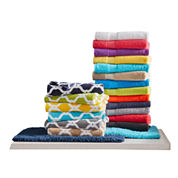 JCPenney Home™ Bath Towel & Bath Rug Collection
