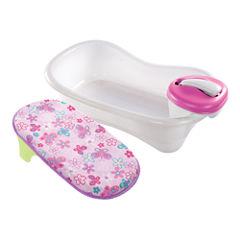 Summer Infant® Newborn to Toddler Bath Center and Shower - Pink