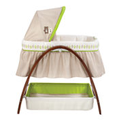 Summer Infant® Bentwood Bassinet with Motion